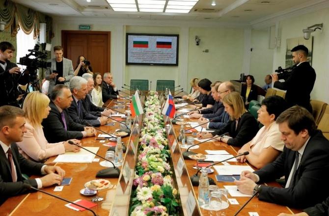 Групите за приятелство в парламентите на България и Русия ...
