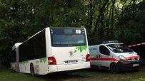 Автобус на градския транспорт катастрофира при смърт на шофьорa