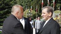 Борисов се срещна с първия вицепрезидент на Иран Есхак Джахангири