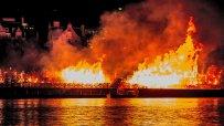 Лондончани отбелязаха 350 г. от Големия пожар с огън