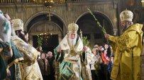 Патриарх Неофит оглави Светата Литургия по случай Цветница