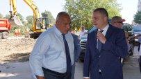 Бойко Борисов даде старт на инфраструктурни проекти във Варна