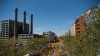 Над 300 000 души на митинг в Барселона, искат свобода за сепаратистки лидери