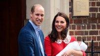 Първи снимки на третото кралско бебе!