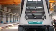 Вижте първият влак за третата метро линия
