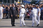Президентът Румен Радев взе участие в отбелязването на 139-та годишнина от създаването на ВМС