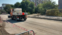"""Кметът на София Йорданка Фандъкова провери днес реконструкцията на ул.""""Резбарска"""""""