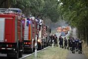 Пожар край Берлин обхвана площ, колкото 400 футболни игрища