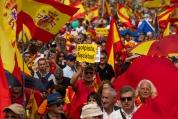 Хиляди протестираха в Барселона срещу каталунския сепаратизъм