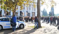 Стотици в подкрепа на българските граничари, обвинени в убийство от Турция