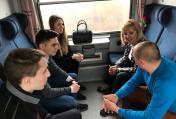 Омбудсманът с приемна в бързия влак София-Варна
