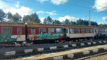 Мъж бе убит във влак край Вакарел