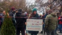 Протест пред Столична община за по-чист въздух в София