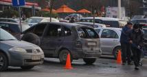 Кола изгоря във Варна