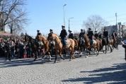 Kонни полицаи показаха майсторска езда на Тодоровден