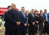 """Борисов провери изграждането на отсечката между Ябланица и Боаза на АМ """"Хемус"""""""