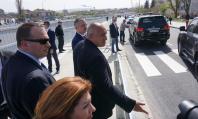 """Бойко Борисов инспектира завършения булевард """"Левски"""" във Варна"""