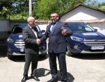 """Дирекция """"Вътрешна сигурност"""" получи два автомобила - дарение от германските полицейски служби"""