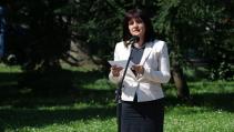 Цвета Караянчева участва в честването по случай 182-рата годишнина от рождението на Апостола на свободата в София