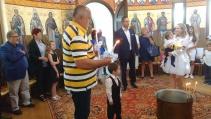 Бойко Борисов кръсти внуците си