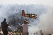 Нормализира се ситуацията на горящия гръцки остров Евия