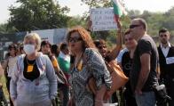 Протест за чист въздух в Русе блокира граничния пункт Дунав мост