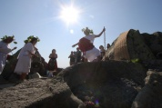 Тракийски бог благослови гроздето и виното в хасковски Минерални бани