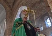 Патриарх Неофит отслужи Архиерейска света Литургия в храм