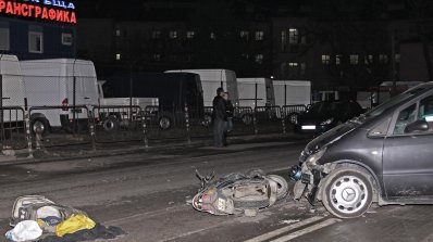 Моторист бере душа след зверска катастрофа