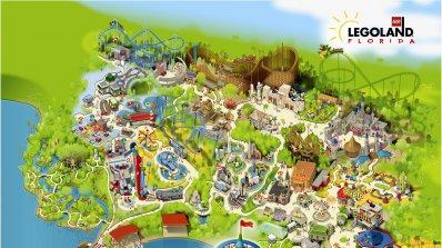 Най-големият LegoLand отваря врати във Флорида