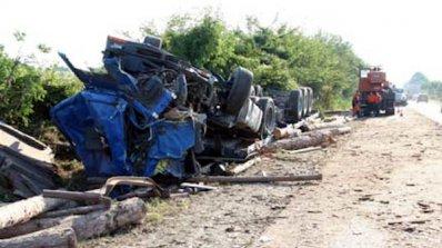 Двама българи са загинали при катастрофа на ТИР в Румъния