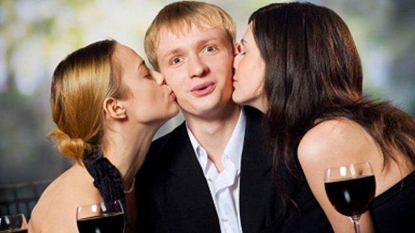Резултат с изображение за мъж с две жени