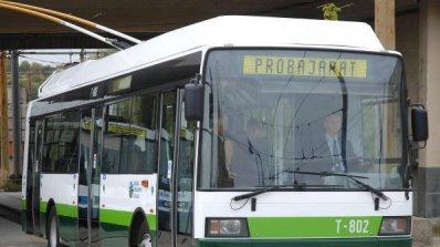 В Пловдив умуват за тролейбусните жици