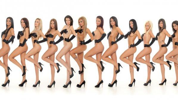 """12 хубавици в битка за """"Мис Плеймейт 2012"""" (снимки)"""