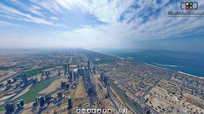 Погледнете света от най-високата сграда на Земята (видео)