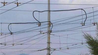 Тролейни жици се скъсаха в Пловдив