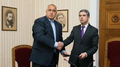 Борисов обяви кабинета на ГЕРБ и върна мандата (галерия)