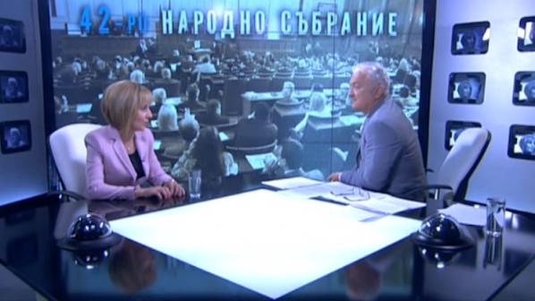 Мая Манолова се скара със Сашо Диков в ефир