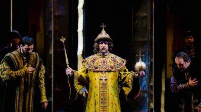 """Спектакъл на операта """"Борис Годунов"""" от Мусоргски на открито"""