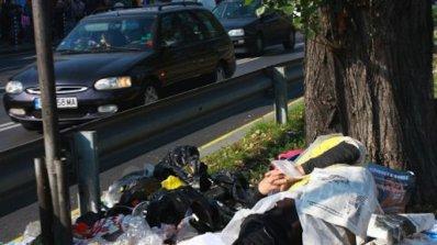 Клошарка сее зарази и бие хора в Горна Оряховица