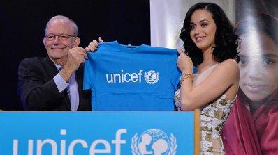Кейти Пери е най-новият посланик на добра воля на УНИЦЕФ