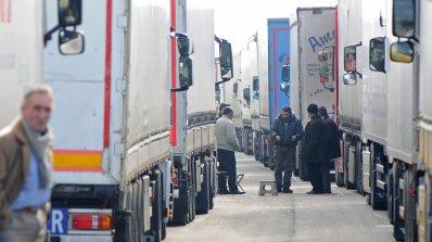 Опашката от камиони на Капитан Андреево опря в Свиленград