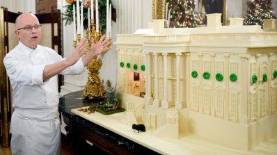Мишел Обама прогони сладкаря на Белия дом