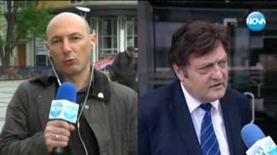 Разпитват журналист заради министъра с френските социални помощи