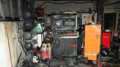 Газова бутилка обгори семейство в Горна Оряховица (снимка)