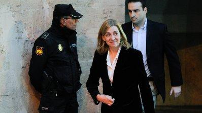 Испанската принцеса Кристина тръгна към съда