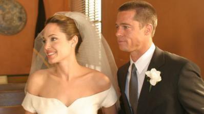 Анджелина Джоли и Брад Пит се ожениха във Франция (снимка)