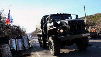 Проруските сепаратисти влязоха в град Новоазовск