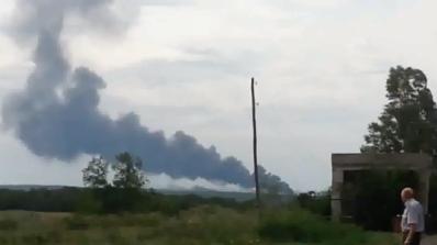 Бойци на украински олигарх свалили боинга