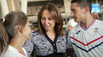 Евгения Раданова подкрепи София за Европейска столица на спорта
